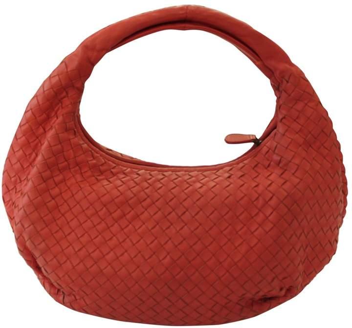 Bottega Veneta Veneta Red Leather Handbag