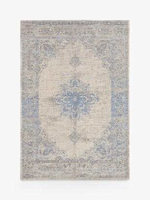 Louis De Poortere Starfield Rug, Soft Blue
