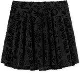 Jessica Simpson Floral Velour Skirt, Big Girls (7-16)