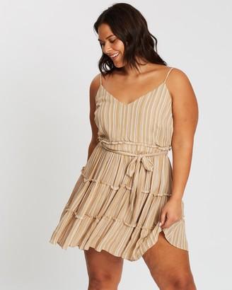 Atmos & Here Mini Ruffle Dress