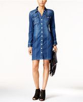 INC International Concepts Denim Shirtdress, Created for Macy's