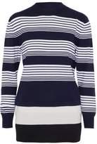 J.W.Anderson Layered Striped Merino Wool Sweater