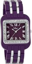 MC M&c Women's | & Silver Tone Fashion Watch | FC0253