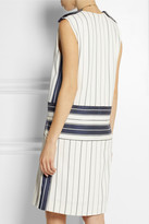 Chloé Striped twill dress