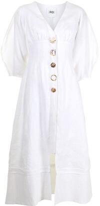 Rachel Gilbert Capri button-up dress