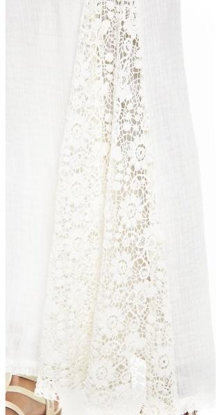 Love Sam Lace Maxi Skirt