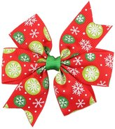 Gillberry Baby Girls Christmas Ornaments Bowknot Hairpin Headdress