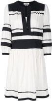 Etoile Isabel Marant striped flared dress - women - Cotton/Viscose - 42