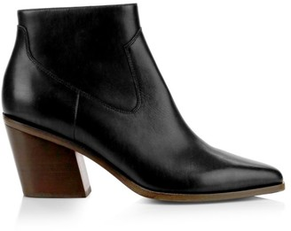 Rag & Bone Razor Leather Ankle Boots