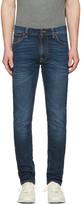 Nudie Jeans Navy Lean Dean Jeans