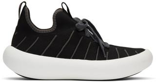 Marni Black Banana Lace-Up Sneakers