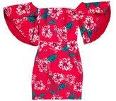 Nicholas Silk Off-The-Shoulder Dress