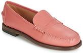 Sebago CLASSIC DAN WAXY W women's Loafers / Casual Shoes in Orange