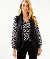 Lilly Pulitzer Trinette Faux Fur Vest