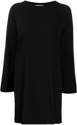 Moschino Logo Sweatshirt Dress