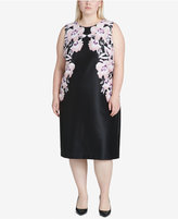 Calvin Klein Plus Size Printed Sheath Dress
