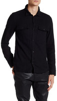 Zadig & Voltaire Trailer Button Down Patch Pocket Long Sleeve Shirt