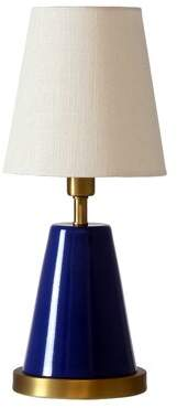 """Zoomie Kids Buhl 13"""" Table Lamp Zoomie Kids Base Finish: Navy Blue/Weathered Brass"""