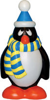 JCPenney General Foam Plastics Outdoor Holiday Penguin with Blue & Yellow Scarf