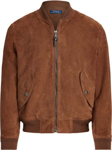 Thumbnail for your product : Ralph Lauren Suede Bomber Jacket
