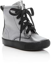 Old Soles Girls' Swag Metallic High Top Sneakers - Walker