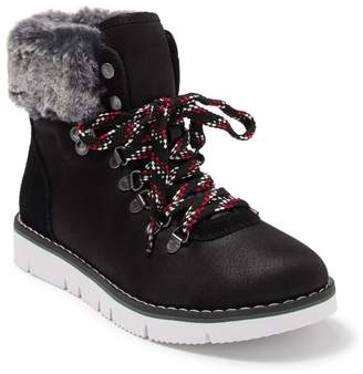 Skechers Bobs Rocky Urban Hiker Faux Fur Detail Boot
