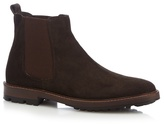 Mantaray Brown 'target' Suede Chelsea Boots