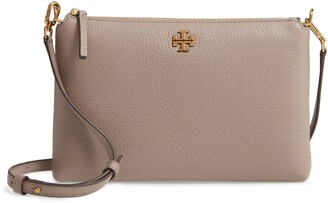 Tory Burch Kira Pebbled Leather Wallet Shoulder Bag