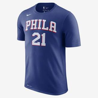 Nike Men's NBA T-Shirt Joel Embiid Philadelphia 76ers Dri-FIT
