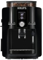 Krups EA8250001 Espresseria Full Automatic Espresso Machine, Piano Black