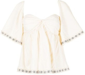 We Are Kindred Allegra bustier blouse