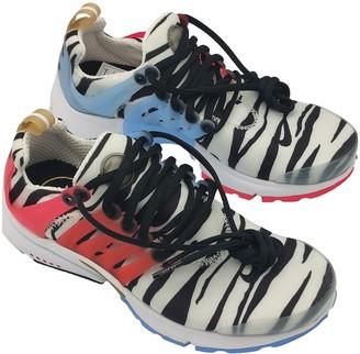 Nike Presto White Rubber Trainers