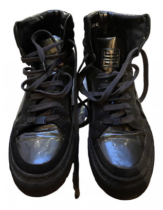 Givenchy Black Leather Trainers