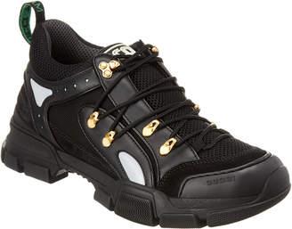 Gucci Flashtrek Leather & Mesh Sneaker