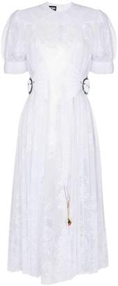 Chopova Lowena Storm lace midi dress