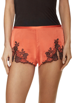 Josie Natori Lillian Silk Pajama Shorts