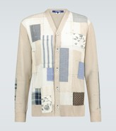 Junya Watanabe Patchwork cotton cardigan