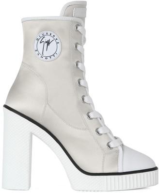 Giuseppe Zanotti Lace-Up Sneaker Boots