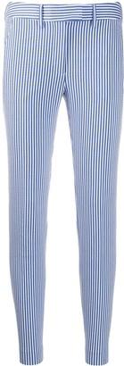 Incotex striped slim-fit trousers