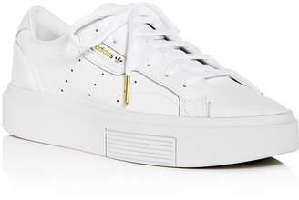 adidas Women's Sleek Super Low-Top Platform Sneakers