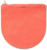 Baggu Leather Pouch Persimmon