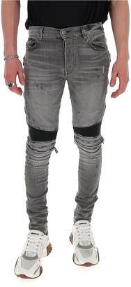 Amiri Zip Detail Skinny Jeans