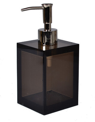 Mike and Ally Mike + Ally Smoked Lucite Lotion Pump