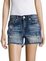 Blank NYC BLANKNYC Amped Out Distressed Cut-Off Shorts