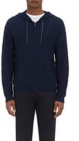 Barneys New York MEN'S SLUB-KNIT ZIP-FRONT HOODIE