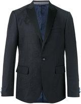 Etro peaked lapel blazer - men - Silk/Polyester/Wool - 48