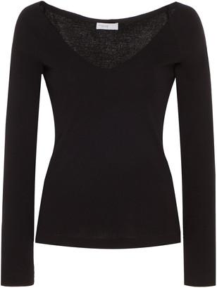Rosetta Getty V-Neck Cotton T-Shirt