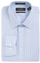 Nordstrom Men's Trim Fit Non-Iron Plaid Dress Shirt