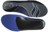 Sof Sole Fit Series Low Arch Insole (Black/Blue) Women's Insoles Accessories Shoes