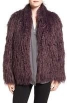 Women's Trouve Shaggy Faux Fur Jacket